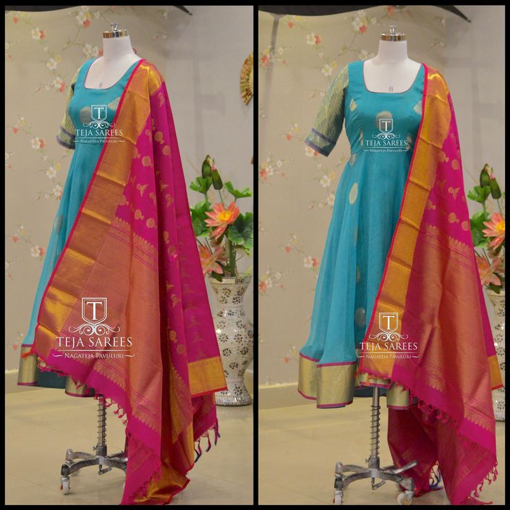 What s new in store anarkali from teja saree.