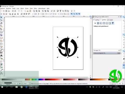 Hoe een bepaalde lijn instellen om te graveren in Inkscape?