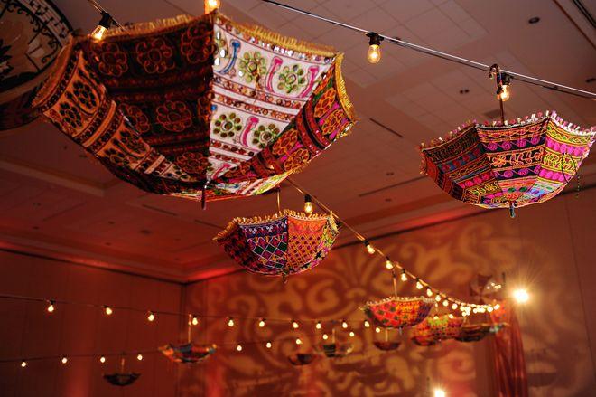 Rajasthani umbrella decorations party ideas pinterest