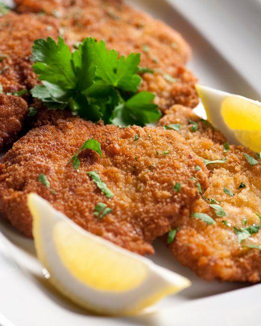 Thursday: Wiener Schnitzel with Pork, spaetzle