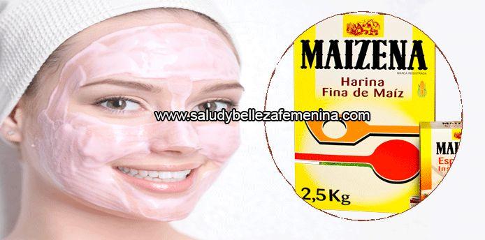 Alisa tu piel efecto inmediato con  esta mascarilla de maizena