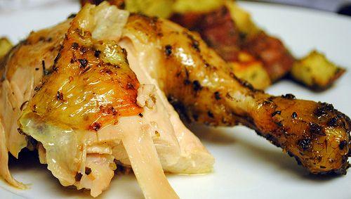 Puerto Rican Style Chicken A La Jamie