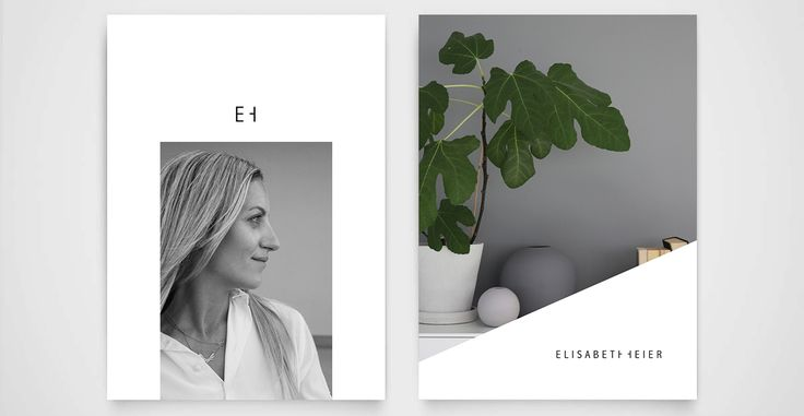 ELISABETH HEIER visuell profil / logo / webdesign - ADESIGN.STUDIO