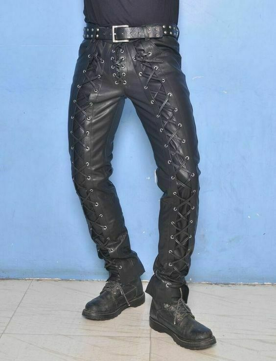 better great discount quite nice Lace-Up Genuine Leather Slim Fit Real Lambskin Men Leather ...