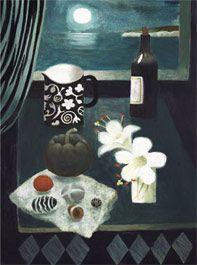 Mary Fedden - 2 Lilies 2006