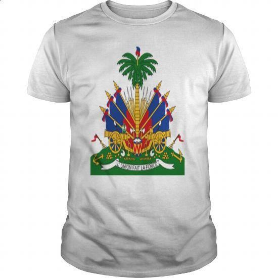 Crest Haiti (dd) - #dress shirt #tshirt designs. PURCHASE NOW => https://www.sunfrog.com/Geek-Tech/Crest-Haiti-dd-White-Guys.html?60505