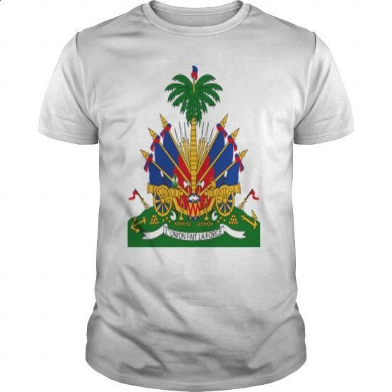 Crest Haiti (dd) - #dress shirt #tshirt designs. PURCHASE NOW => https://www.sunfrog.com/Geek-Tech/Crest-Haiti-dd-White-Guys.html?60505