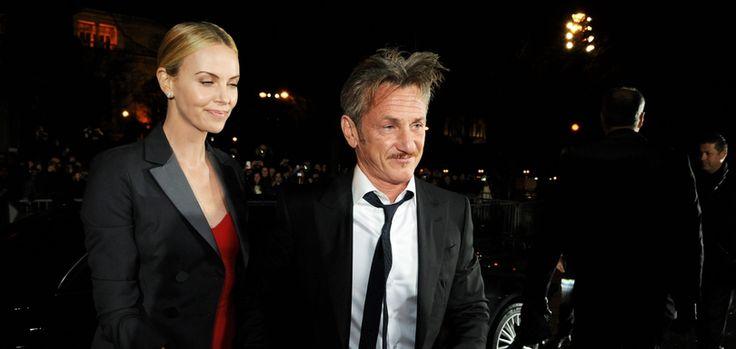 Charlize Theron et Sean Penn à la cérémonie des Césars à Paris, 20 février 2015
