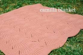 Camilla blanket - Madder - Anthology 2