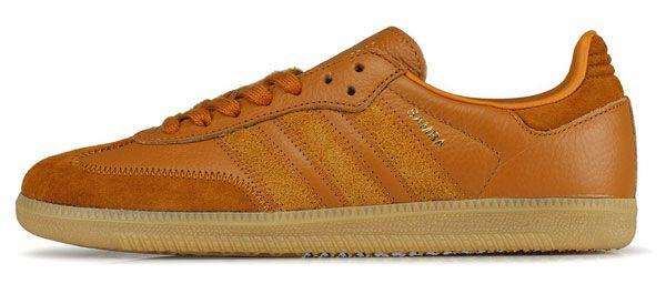 Adidas Samba OG trainers in brown leather | Adidas samba