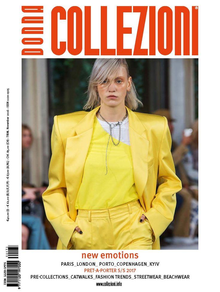 #CollezioniDonna n.173 New Emotions  #Paris #°London #Copenhagen #Kiew #pret-a-porter #springsummer2017 #ss2017  #pre-collections #catwalks #Fashiontrends #streetwear #beachwear