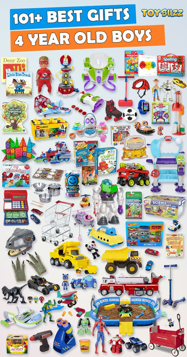 Gifts For 4 Year Old Boys 2020 – List of Best Toys | Christmas
