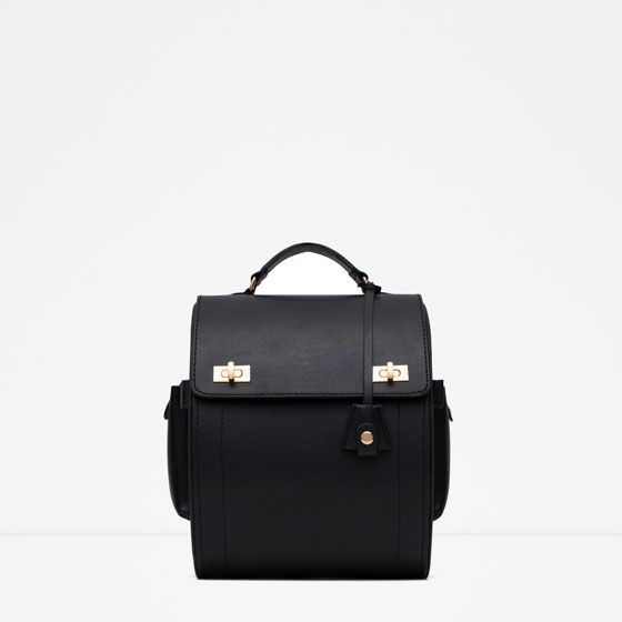 Image 1 of RIGID BACKPACK from Zara