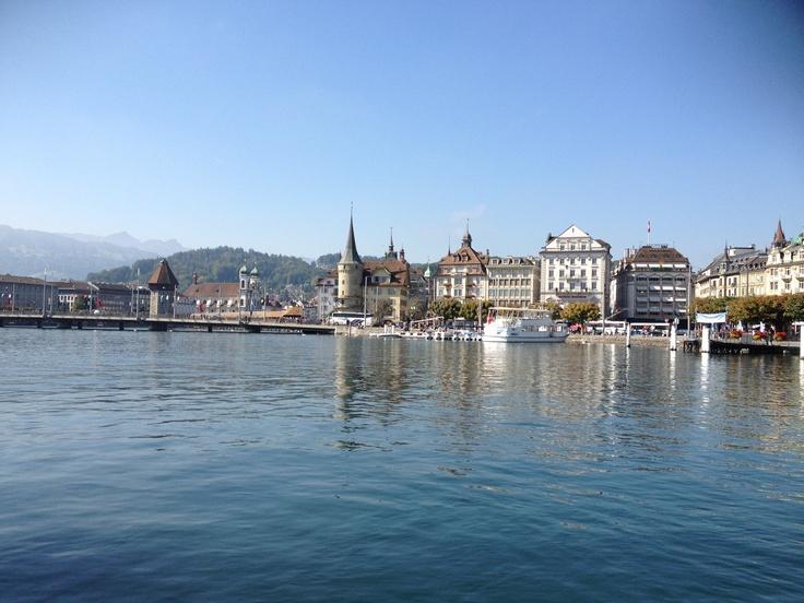 On the lake - Luzern, Switzerland