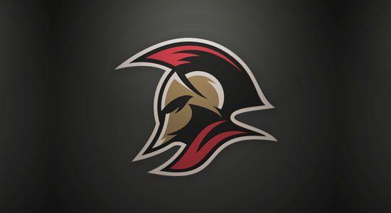 Spartan by Andy Hall - 60 Incredible Spartan Logo Designs for Inspiration | iBrandStudio