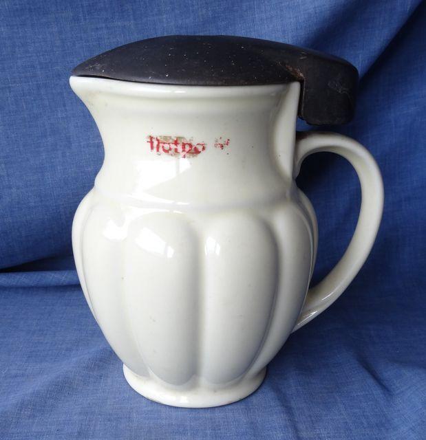 Vintage Ceramic Electric Jug Kettle Hotpoint Npa Aei Bakelite Works Well Electric Jug Vintage Ceramic Hotpoint
