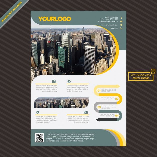 Stunning FREE flyer brochure to download!
