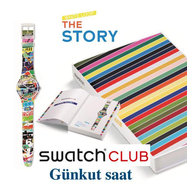 Özel Tasarımlı Swatch Club Special Saatleri ile Tanışın!  Swatch hayranlarının unutamadığı parçaların birleşimlerinden oluşan White Loop tasarımı ile Swatch hayranları yıllar sonra özledikleri tasarımlara tekrar kavuşacaklar.  Yazımızın devamı için; http://www.gunkutsaat.com/ozel-tasarimli-swatch-club-special-saatleri-ile-tanisin