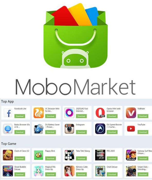 Mobomarket Best Android App-Free Download Games, App, APK