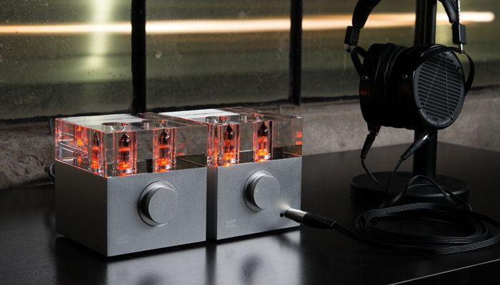 Woo Audio WA7d Fireflies Duo headphone amplifier with built-in USB 32/192K Digital-to-Analog Converter