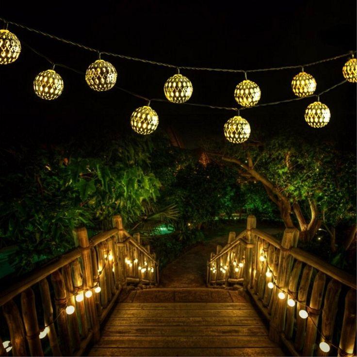 Garden String Lights Pinterest : 25+ best ideas about Solar string lights on Pinterest Solar fairy lights, Solar garden lights ...