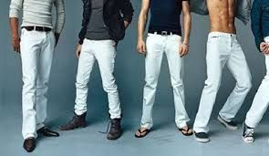 How To Buy Jeans | | White Jeans For Men
