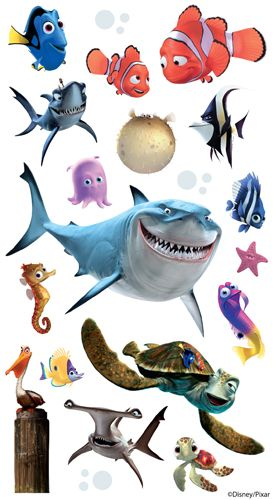 EK Success - Disney Collection - Classic Stickers - Finding Nemo at Scrapbook.com $1.64
