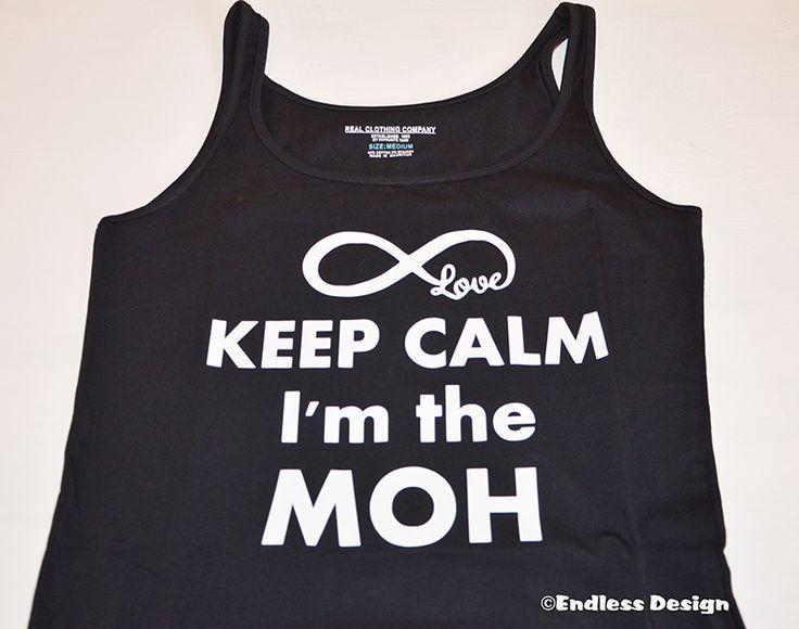 Keep calm Maid of Honor shirt