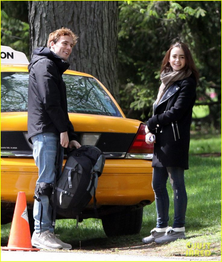 love rosie lily collins | Lily Collins & Sam Claflin Film 'Love, Rosie' in Toronto! | Lily ...