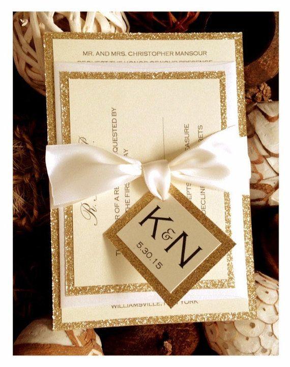 Best 25 Gold wedding invitations ideas on Pinterest Gold