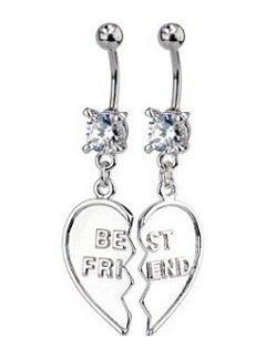 for me and my bestie christin when she gets her belly button pierced