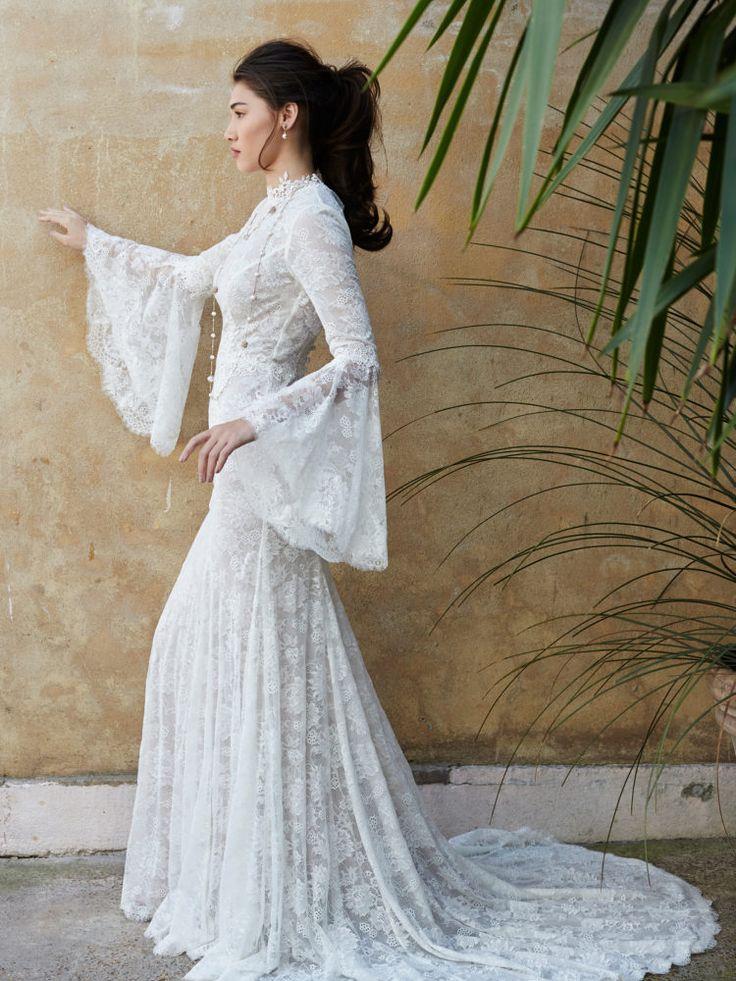Sassi Halford - Selena coat with nude Sienna slip