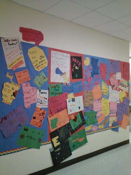 Classroom Voting Ideas ~ Best th grade work images on pinterest kids
