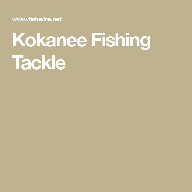 Kokanee Fishing Tackle #fishingtackle