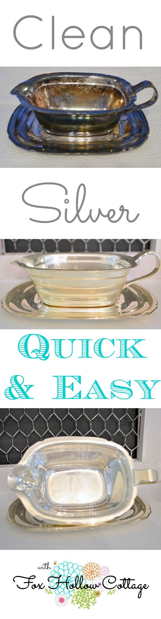 How To Clean Silver Quick and Easy!