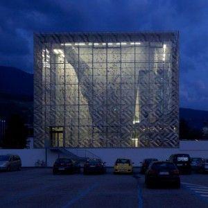 Vertikale Kletterhalle Brixen by  Stadtlabor and Wolfgang Meraner