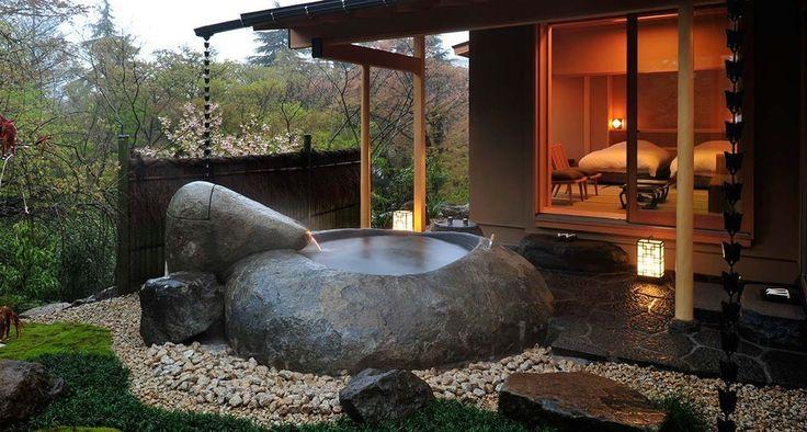 Gora Kadan - Hakone, Japan   Community Post: 20 Dream Bathtubs From Hotels Around The World