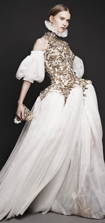 A tragic day when this wonderful man committed suicide...so very sad   Alexander McQueen's fall fantasy 2013
