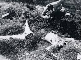 The most iconic murders to date. The Black Dahlia.   Also featured in AHS: Murder House