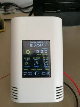ESP8266 Colored Weather Station | Computing | Arduino, Arduino
