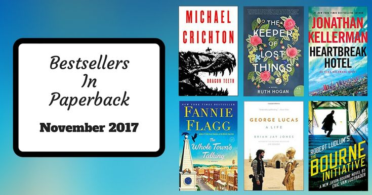Take a look at this month's selection of bestsellers now in paperback! November has a plethora of bestselling books for you to check out from thrilling mysteries, to enthralling Literary reads, and insightful biographies. Pick up paperbacks by Michael Crichton, Jonathan Kellerman, Clare Mackintosh, Fannie Flag, and many more! Mystery, Thriller &... Read More