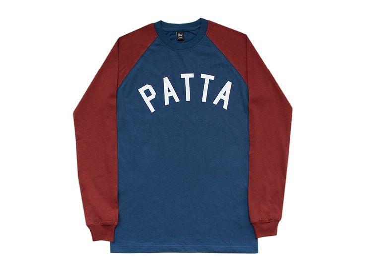 Patta Athletic Raglan Longsleeve T-Shirt - FALL/WINTER 2015 - COLLECTIONS