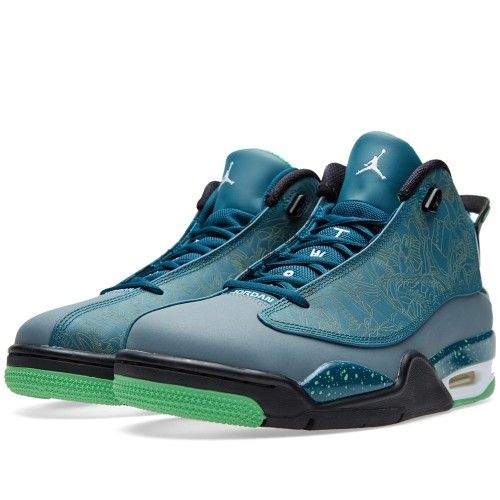 Nike Air Jordan Dub Zero 'Teal' (Teal, Light Green Spark & Blue)