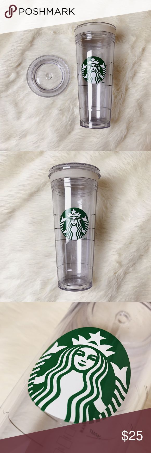 Starbucks Venti (24 oz) Insulated Travel Tumbler Starbucks Venti (24 oz) Insulated Travel Tumbler Great Condition, there are small scratches but they're not visible unless being looked at closely with a bright light (couldn't even show up in the pictures)! Starbucks Other