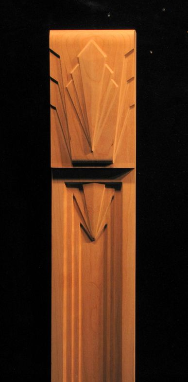 This pilaster is inspired from the Empire State Bldg decor featuring a faceted capital and pilaster combination that can be...