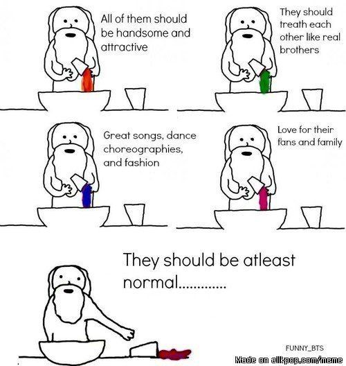 How god made BTS
