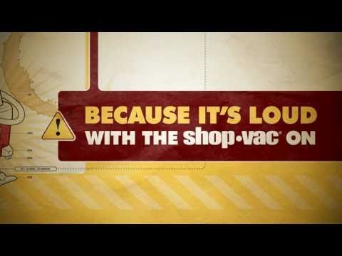 "Kinetic type to Jonathan Coulton's ""Shop Vac."" Masterful mock-logo artistry."