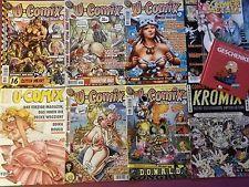 U-Comix Kromix Schwermetall Comics für Erwachsene Konvolut Sammlung Topzustand