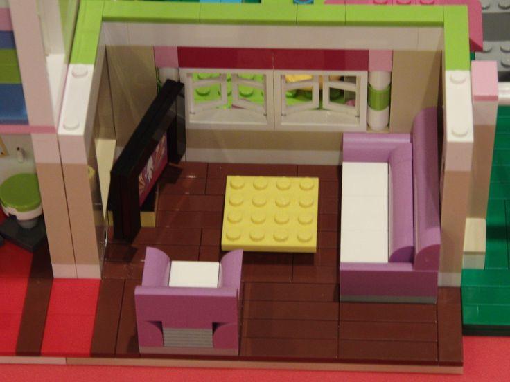 Lego Friends 3315 Olivia's House Living Room Floor Remodeling Kit | eBay
