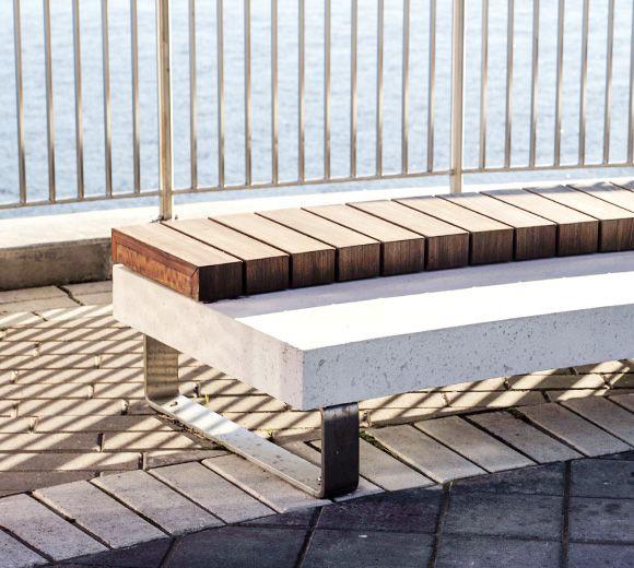 LEMAYMICHAUD | Design | Architecture | Park | landscape | Montreal | Concrete | Bench